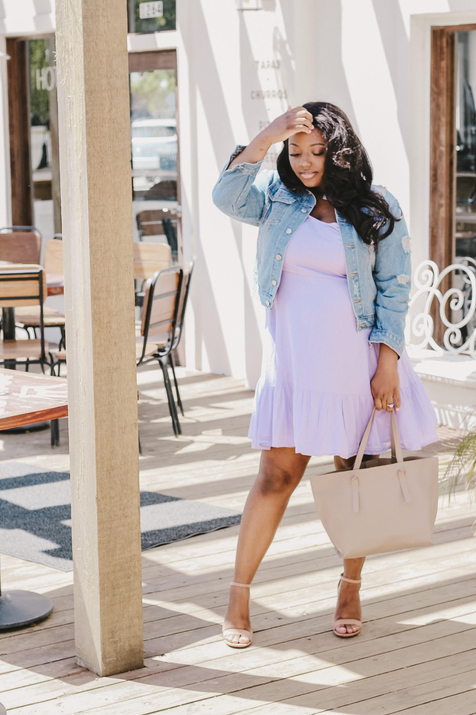 Spring dress and affordable easter outfit