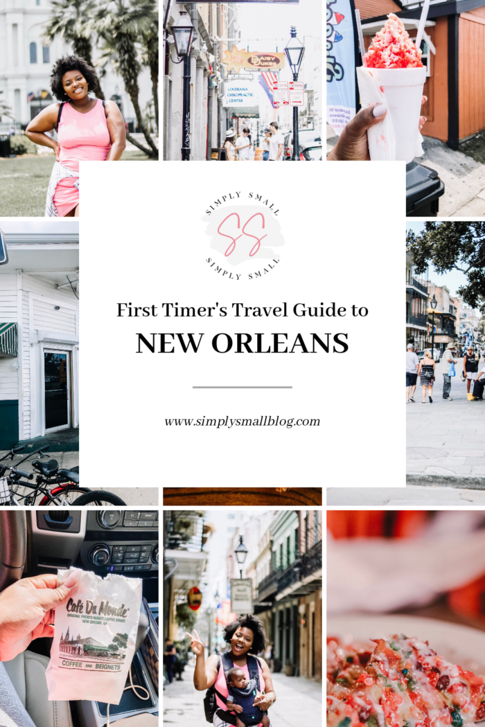 First Timer's Guide to New Orleans . . .