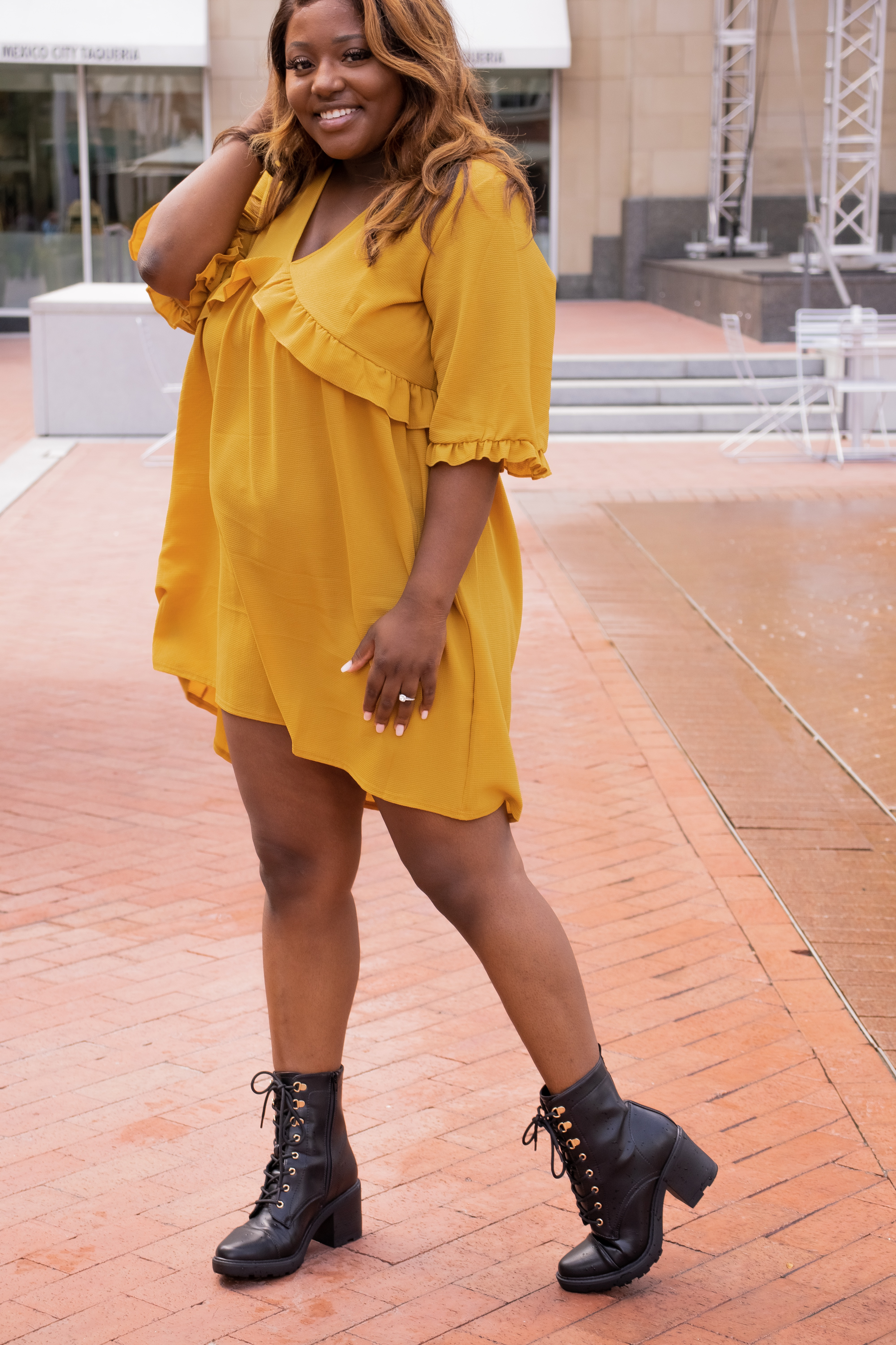 combat boots from Shoedazzle