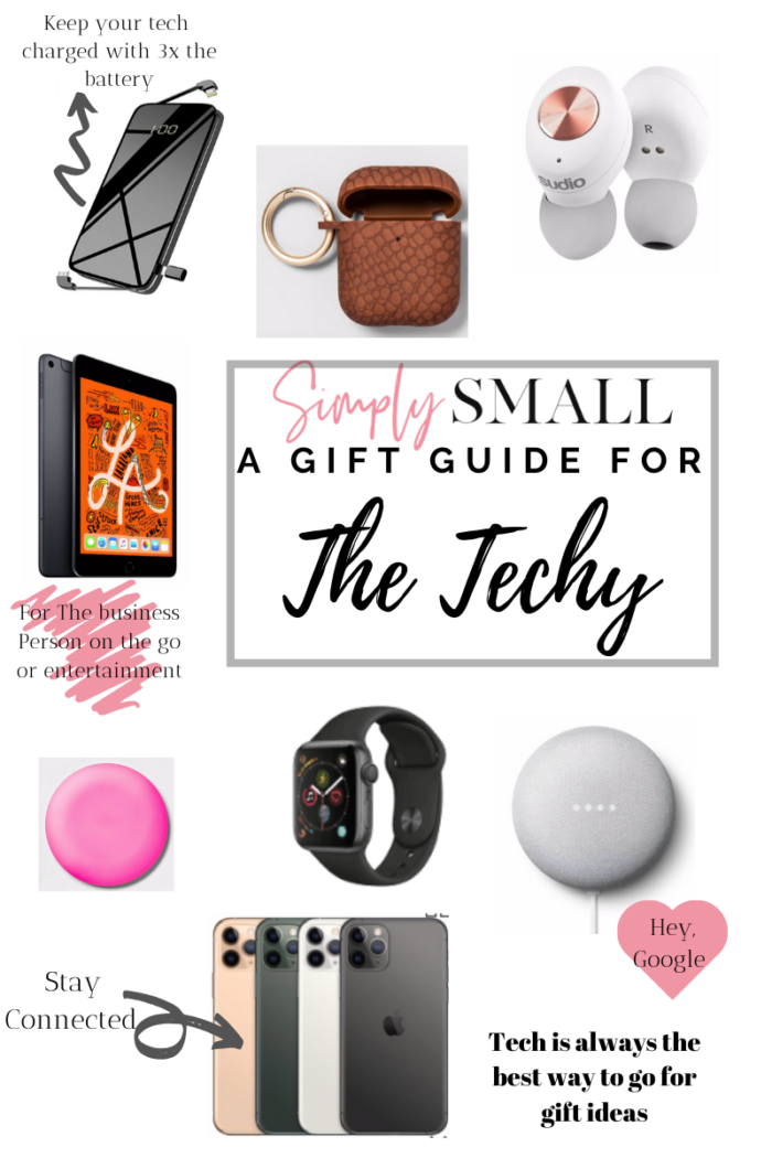 Gift Guide for the Techy