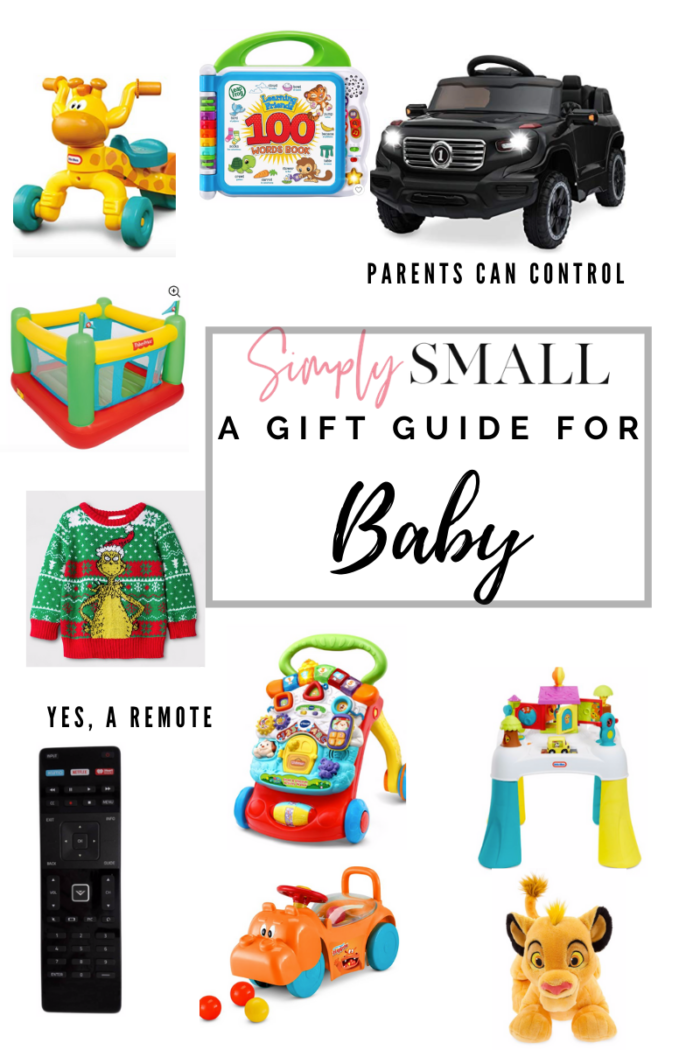 Gift Guide For The Baby