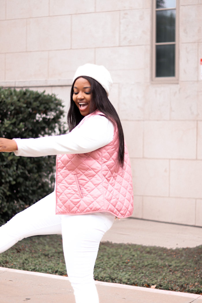 Pink Vest + What This Season Means to me. . .