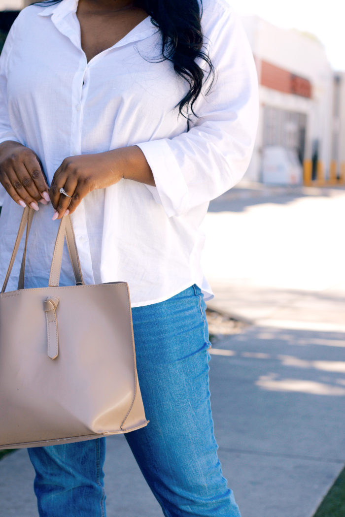 My Go-To Spring Outfit 4 Ways. . .