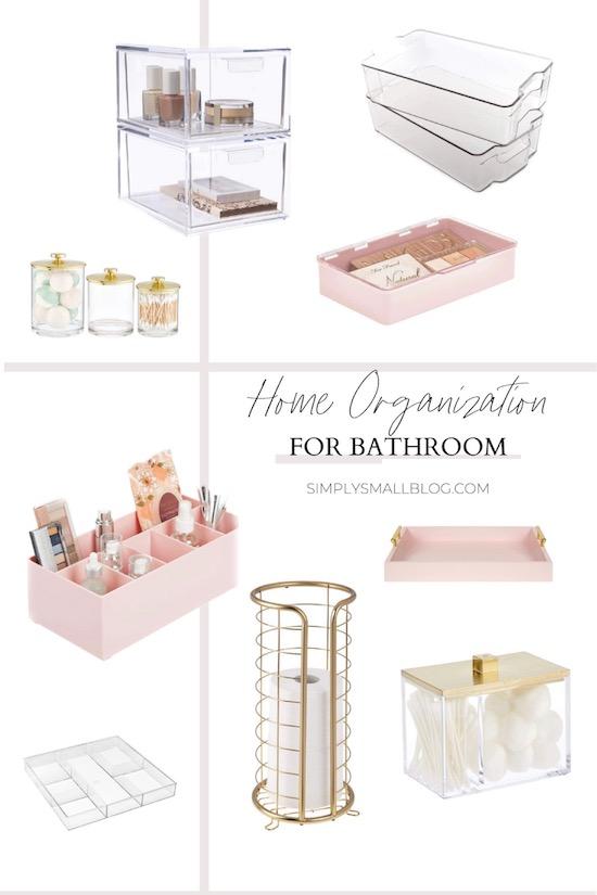 Home Organization For The Bathroom