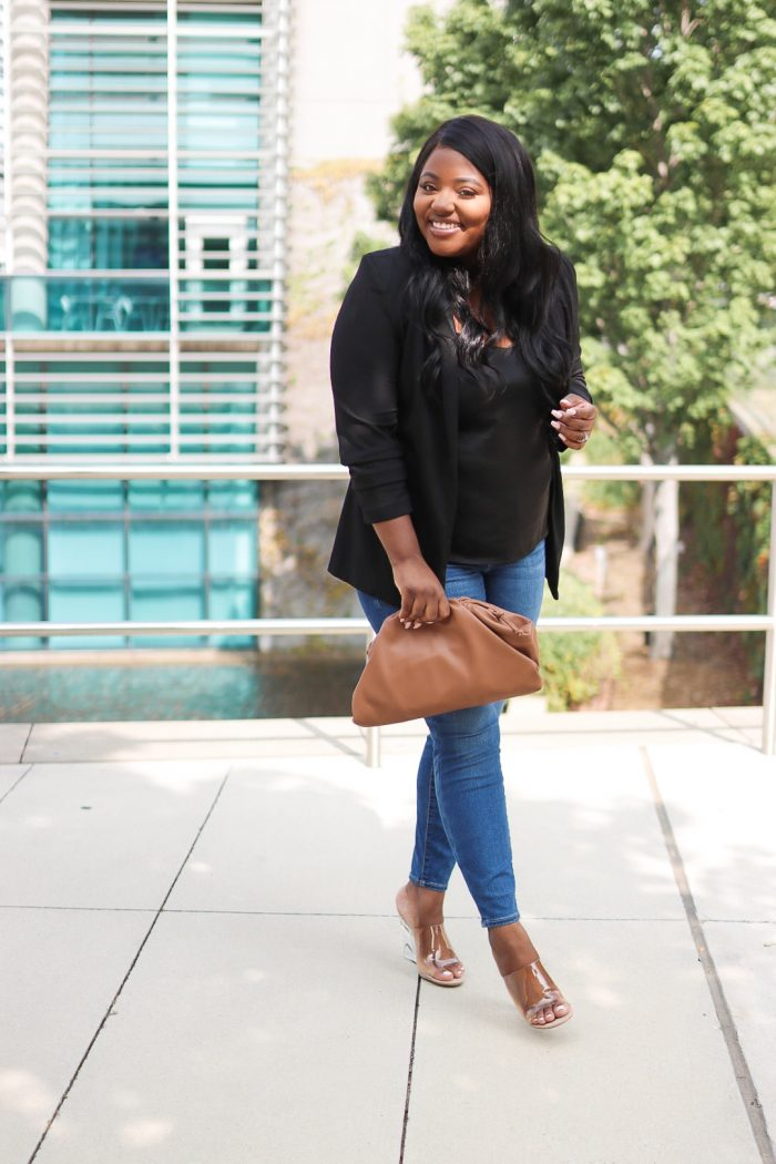 Black Blazer Outfit for Fall