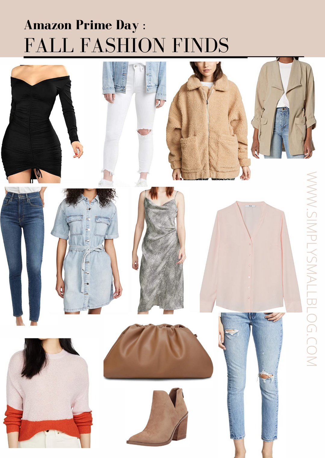 amazon fashion finds, fall fashion, Levi's, amazon brands