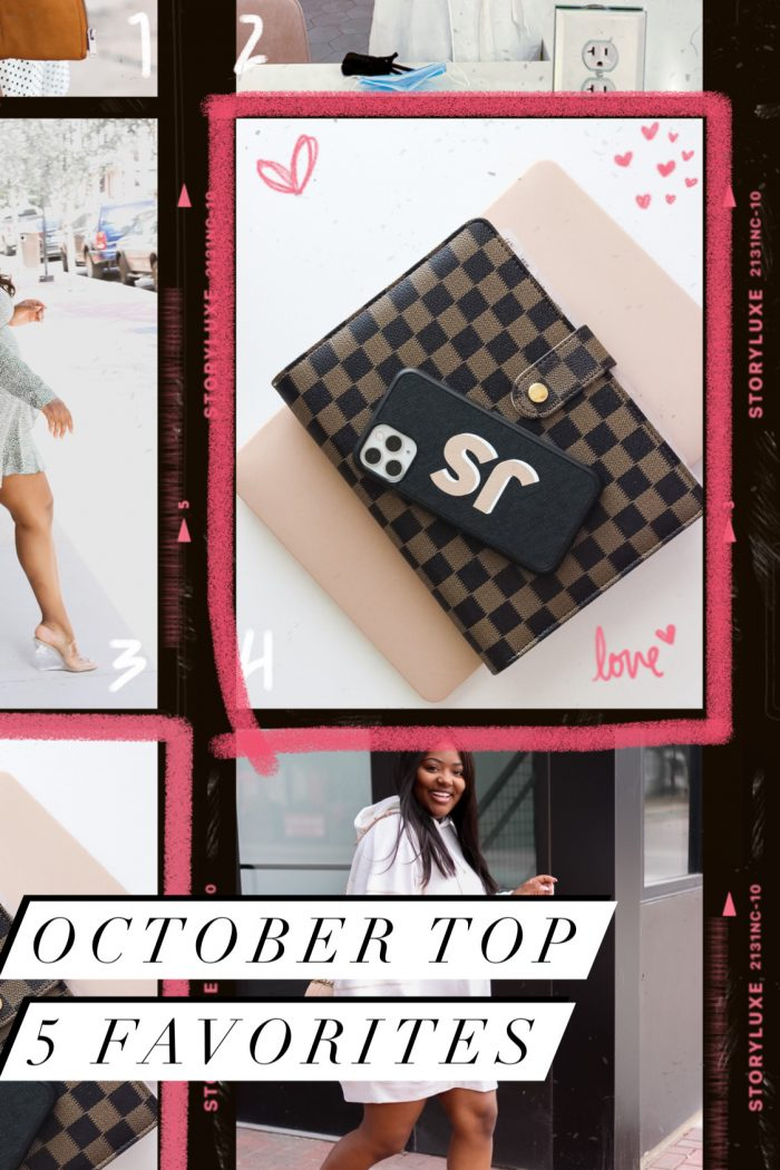 October Top 5 Favorites